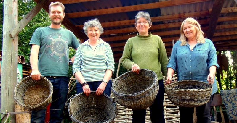 Traditional Basket Making : Bodger morgan